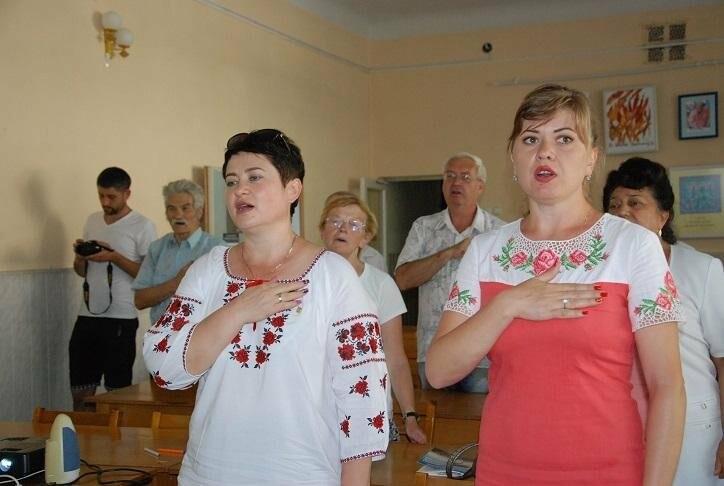 В Бердянске почтили память борцов за независимость Украины в ХХ веке (ФОТО), фото-1