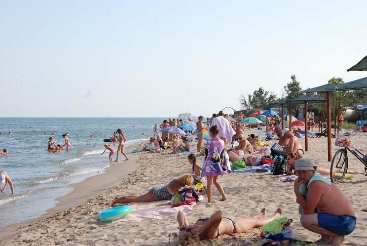 Бердянск. Пляж Лазурный, Верховая  (ФОТОРЕПОРТАЖ), фото-1