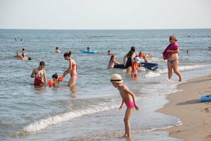 Бердянск. Пляж Лазурный, Верховая  (ФОТОРЕПОРТАЖ), фото-3