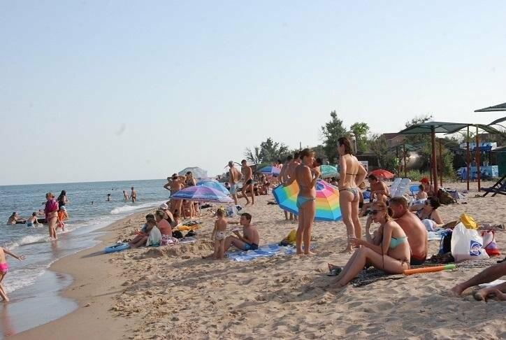 Бердянск. Пляж Лазурный, Верховая  (ФОТОРЕПОРТАЖ), фото-4