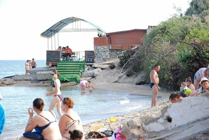 Бердянск. Пляж Лазурный, Верховая  (ФОТОРЕПОРТАЖ), фото-6