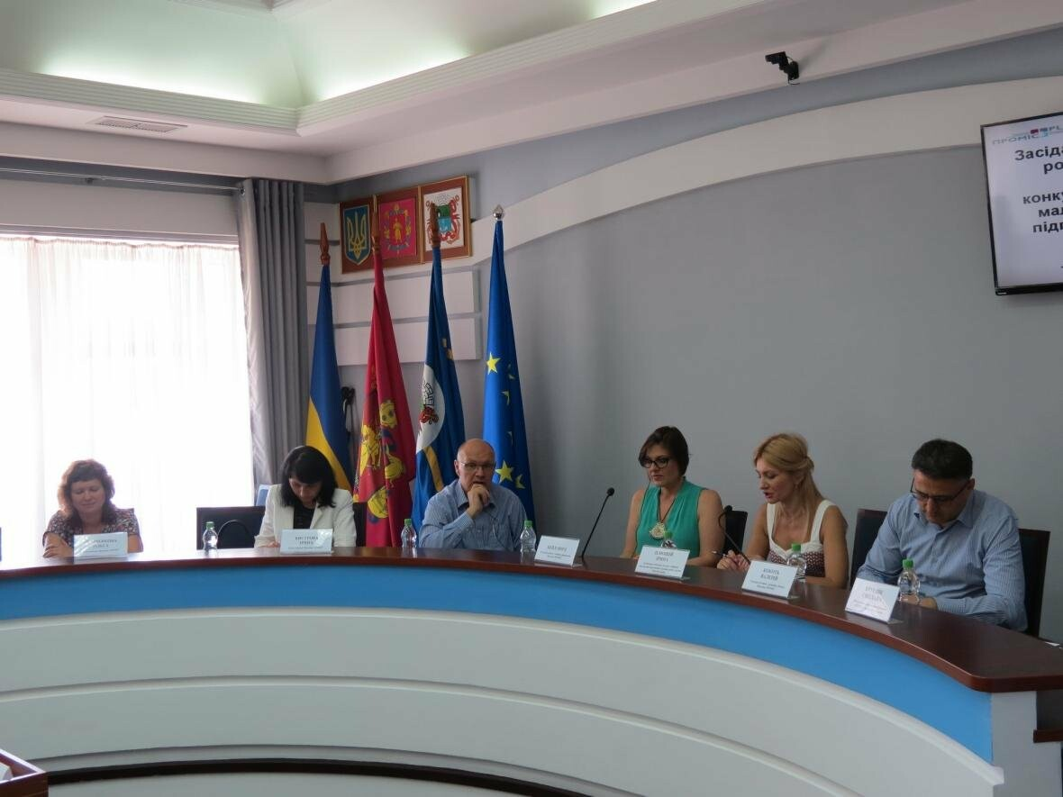 Проблемы и  перспективы бизнеса в Бердянске обсудили в горисполкоме с представителями «ПРОМІС», фото-1