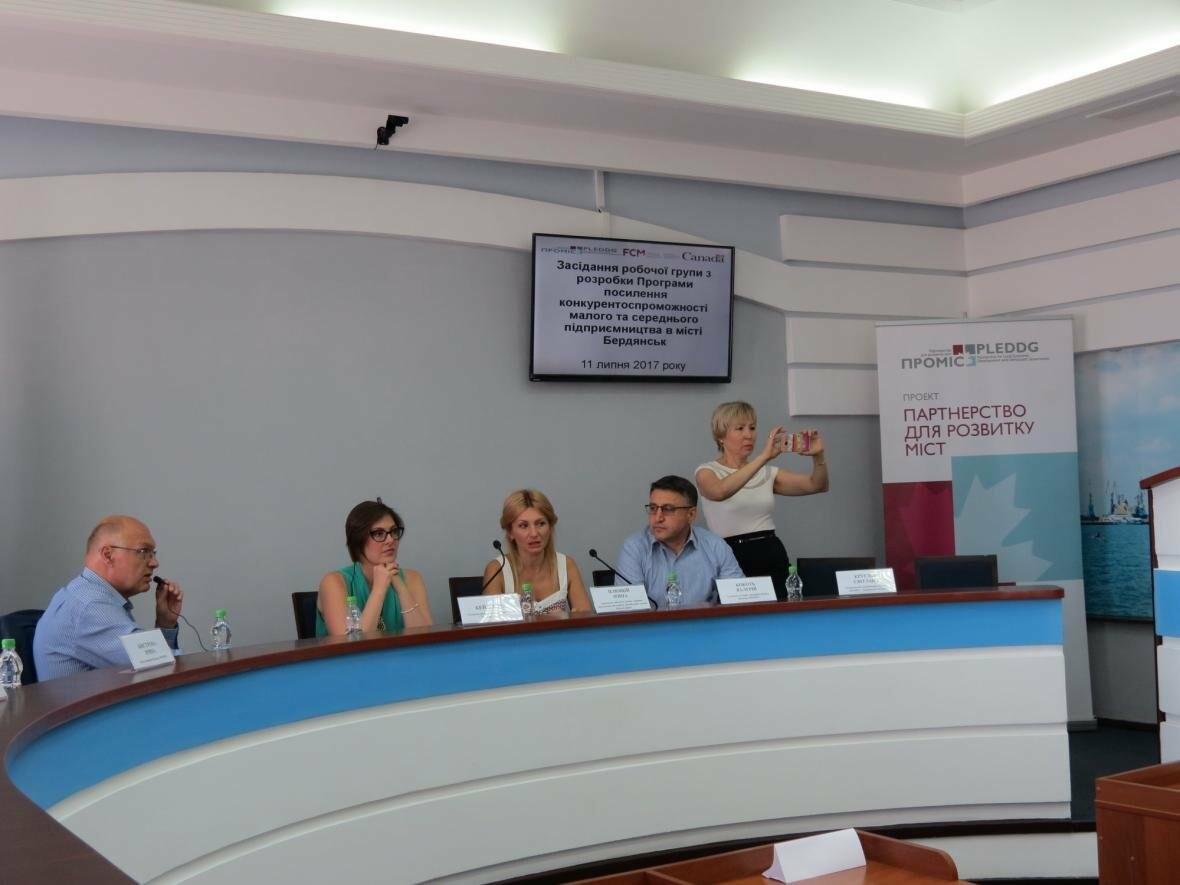 Проблемы и  перспективы бизнеса в Бердянске обсудили в горисполкоме с представителями «ПРОМІС», фото-3