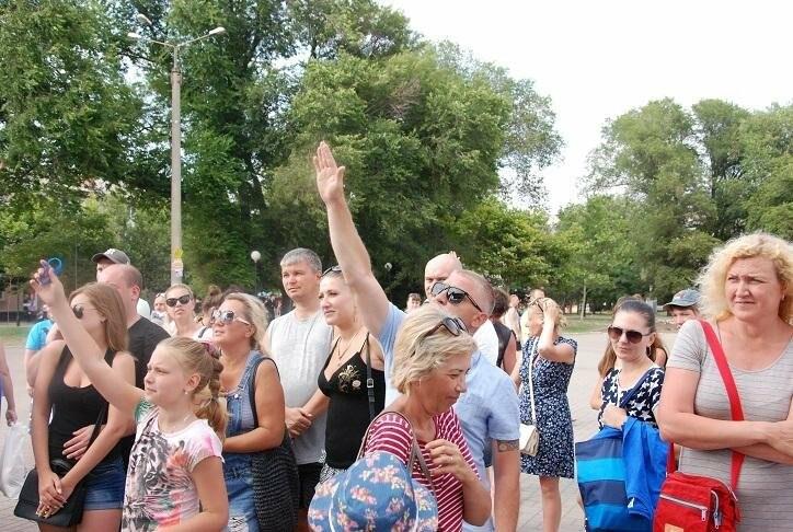 Викторина и фотовыстовка «Узнай мгновения твоей Европы» прошла в Бердянске (ФОТОРЕПОРТАЖ), фото-8