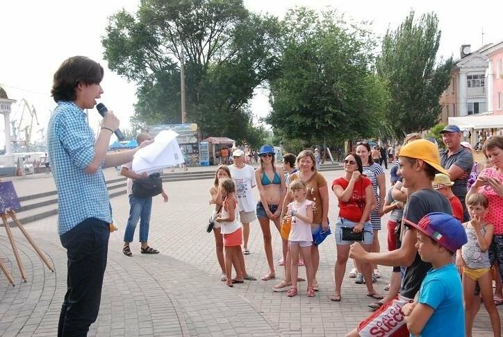 Викторина и фотовыстовка «Узнай мгновения твоей Европы» прошла в Бердянске (ФОТОРЕПОРТАЖ), фото-6