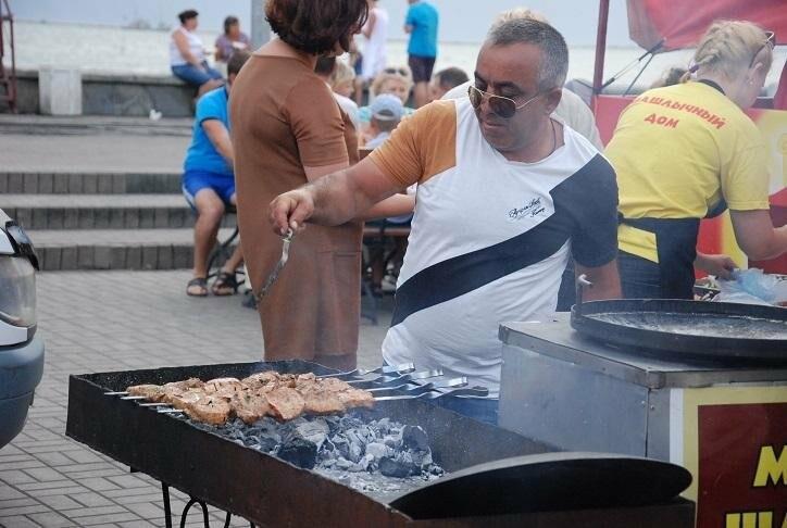 Фестиваль шашлыка стартовал в Бердянске (ФОТОРЕПОРТАЖ), фото-1