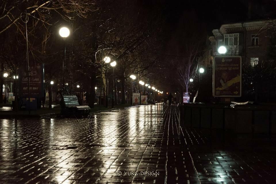 Ночью Бердянск преображается (ФОТОРЕПОРТАЖ), фото-5