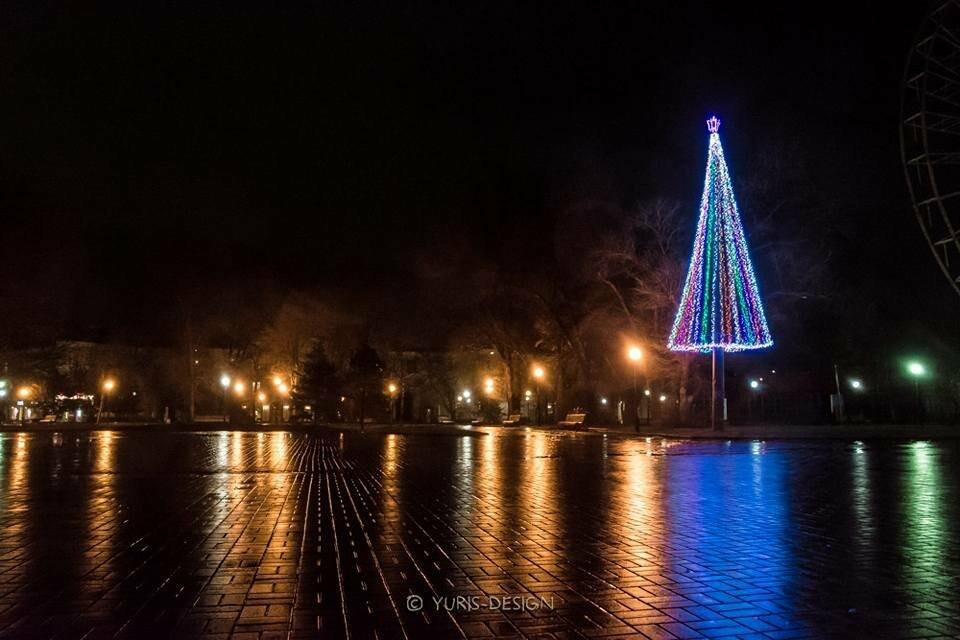 Ночью Бердянск преображается (ФОТОРЕПОРТАЖ), фото-7