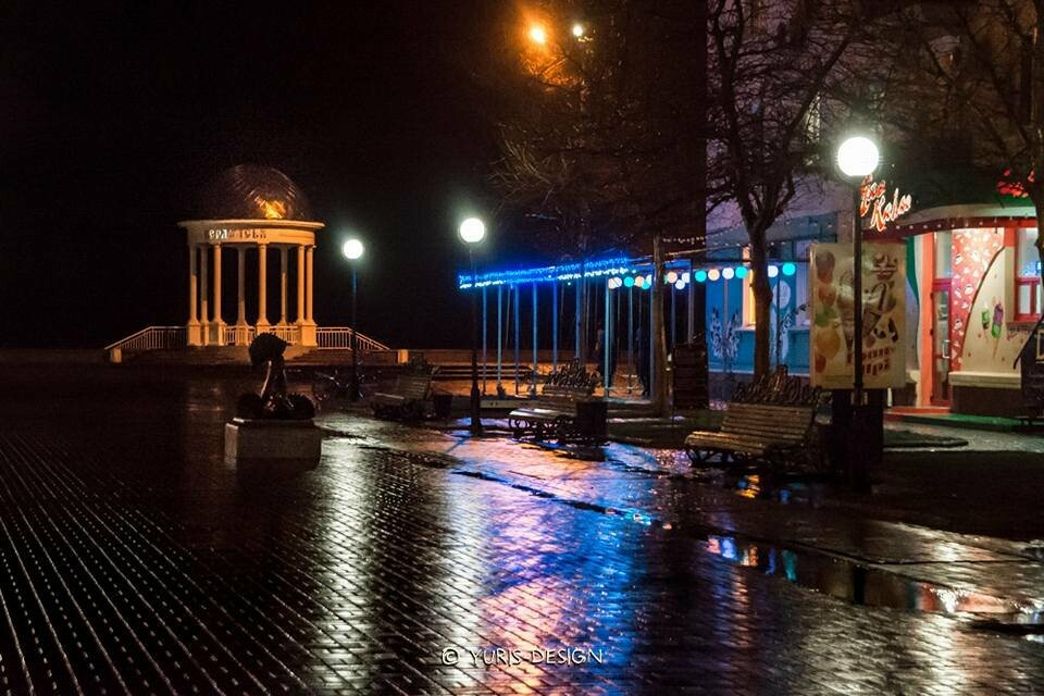 Ночью Бердянск преображается (ФОТОРЕПОРТАЖ), фото-10