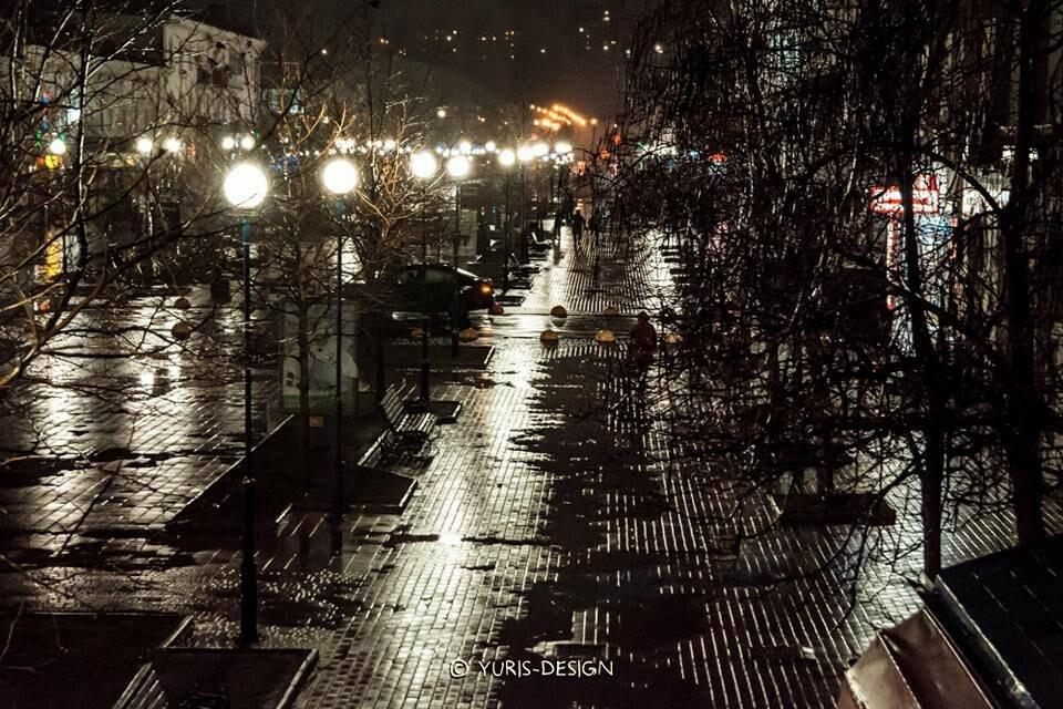Ночью Бердянск преображается (ФОТОРЕПОРТАЖ), фото-14