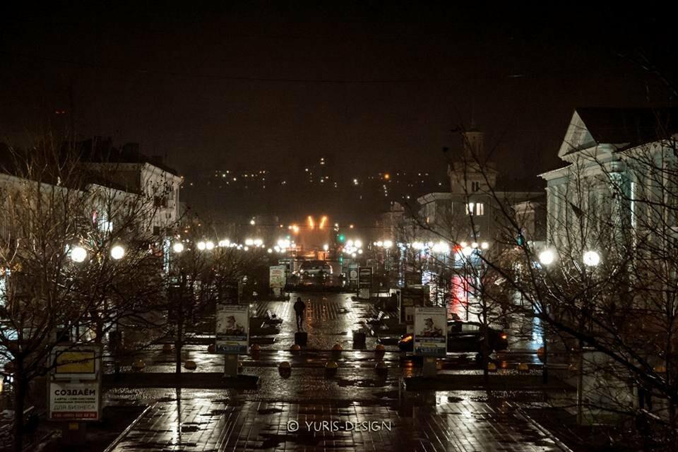 Ночью Бердянск преображается (ФОТОРЕПОРТАЖ), фото-11
