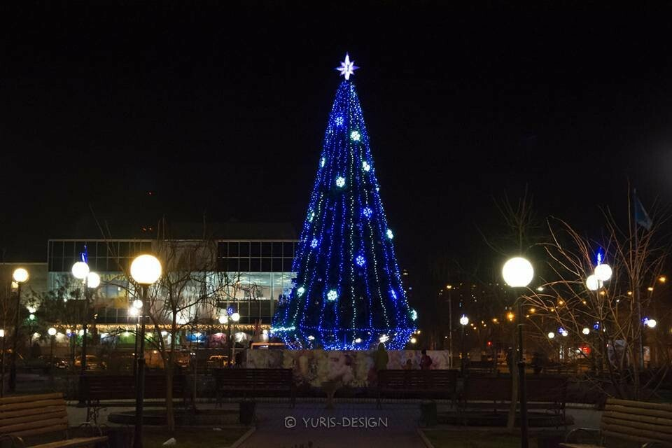Ночью Бердянск преображается (ФОТОРЕПОРТАЖ), фото-2