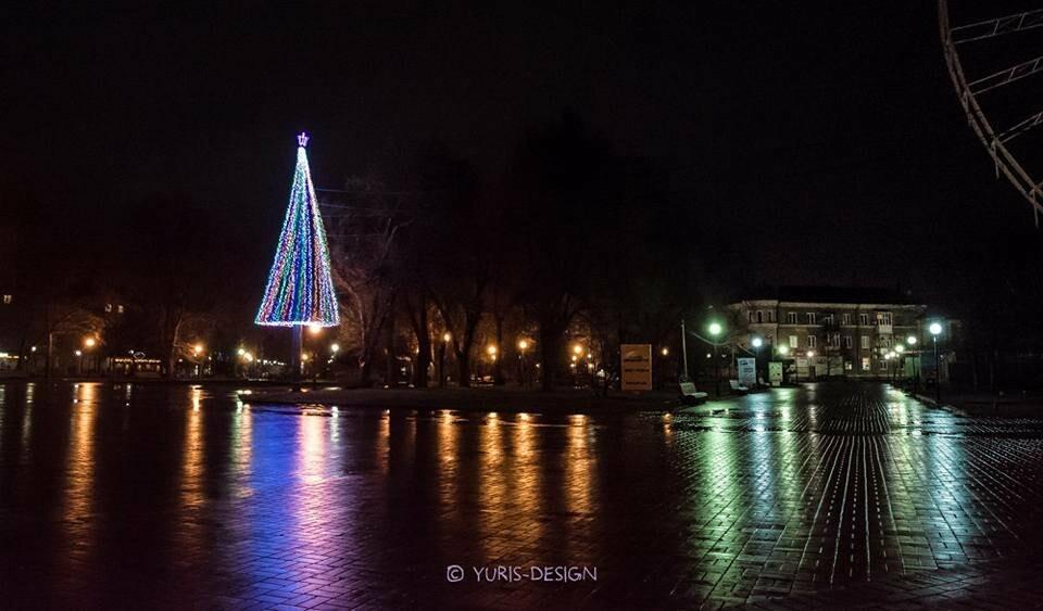 Ночью Бердянск преображается (ФОТОРЕПОРТАЖ), фото-4