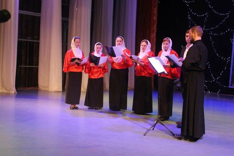 В Бердянске состоялся Рождественский концерт  (ФОТО), фото-12