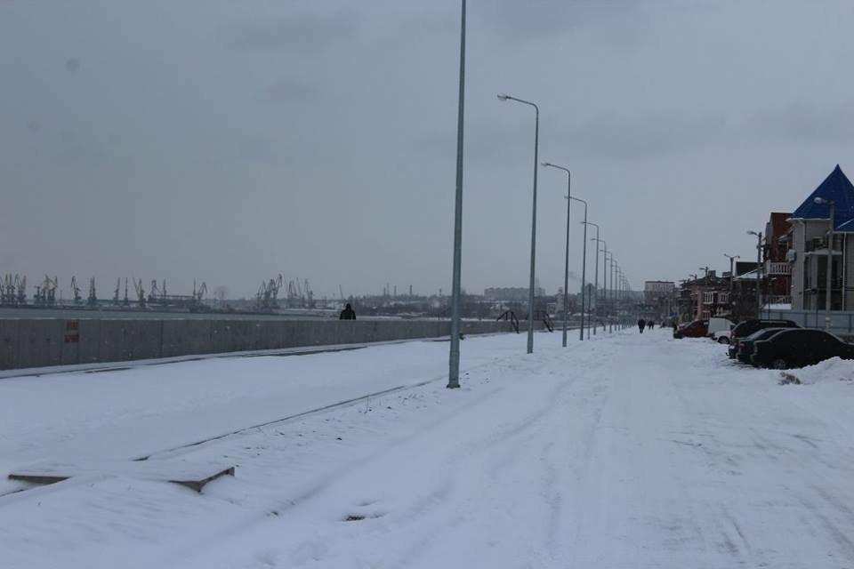 В Бердянск пришла настоящая зима (ФОТО), фото-1