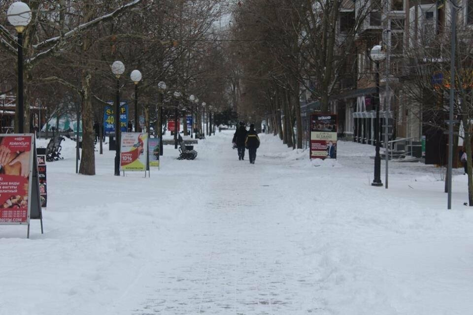 В Бердянск пришла настоящая зима (ФОТО), фото-3
