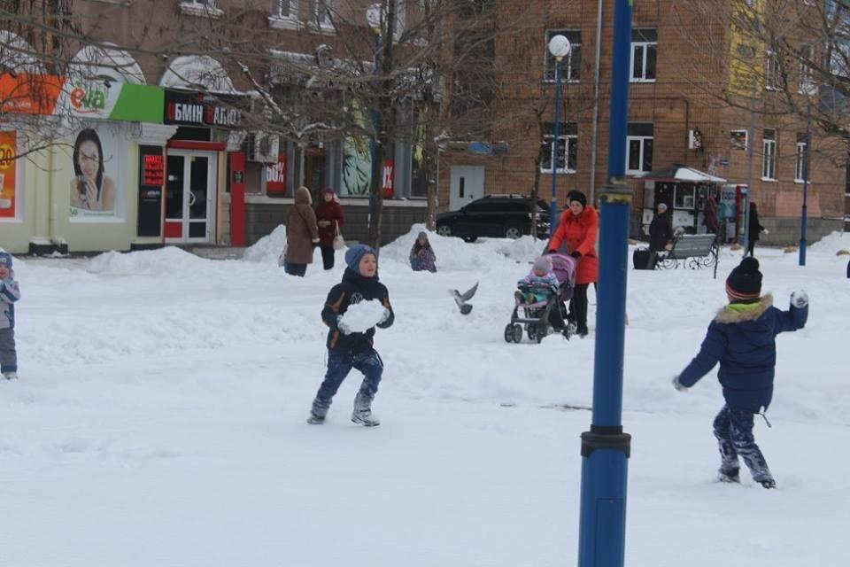 В Бердянск пришла настоящая зима (ФОТО), фото-4