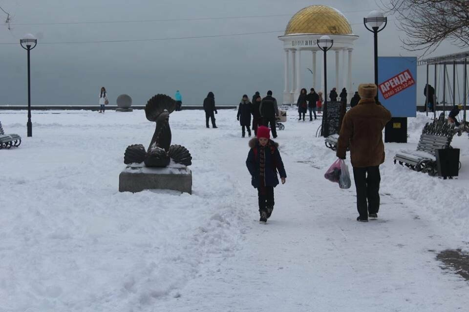 В Бердянск пришла настоящая зима (ФОТО), фото-5