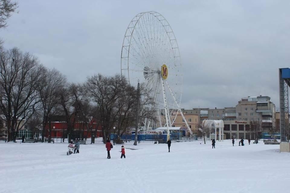 В Бердянск пришла настоящая зима (ФОТО), фото-7