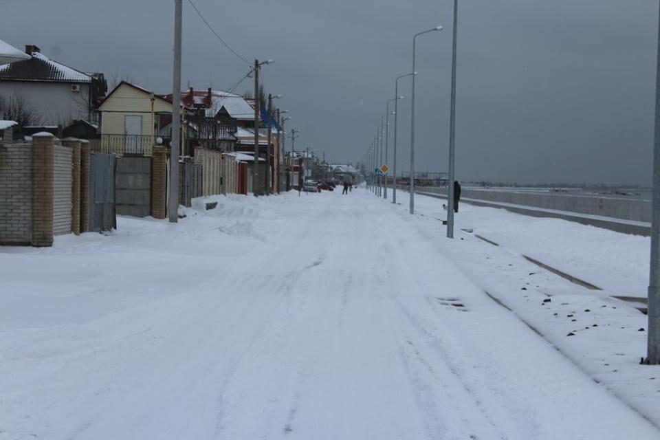 В Бердянск пришла настоящая зима (ФОТО), фото-10