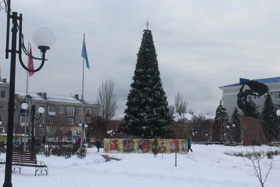 В Бердянск пришла настоящая зима (ФОТО), фото-11