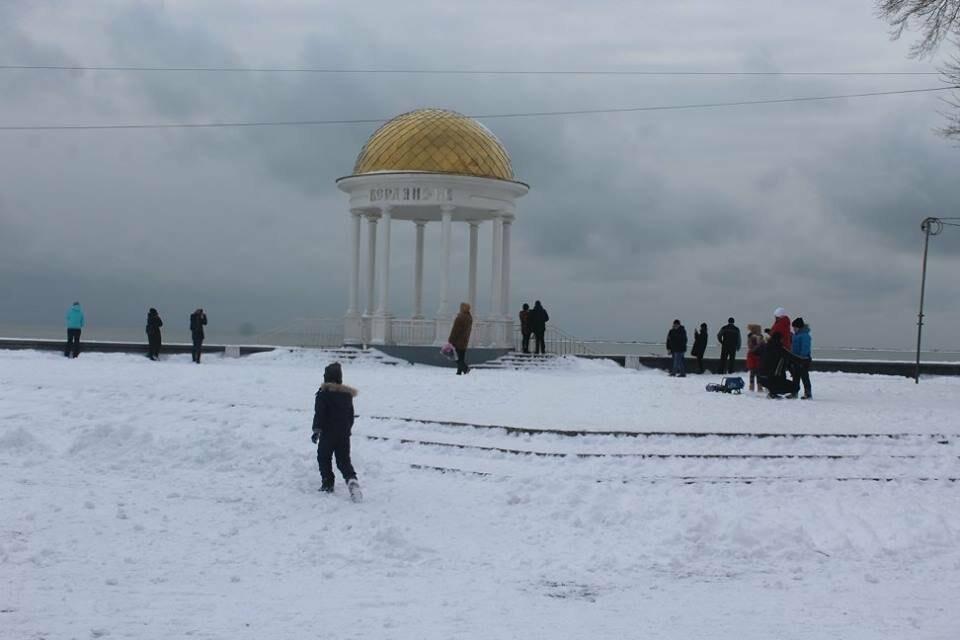 В Бердянск пришла настоящая зима (ФОТО), фото-14