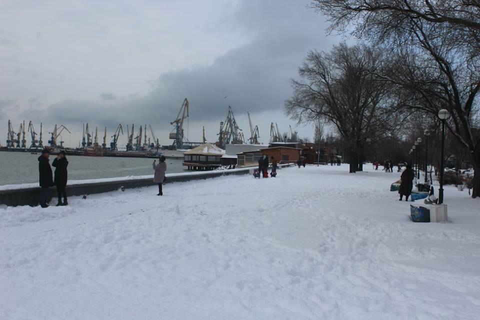 В Бердянск пришла настоящая зима (ФОТО), фото-15