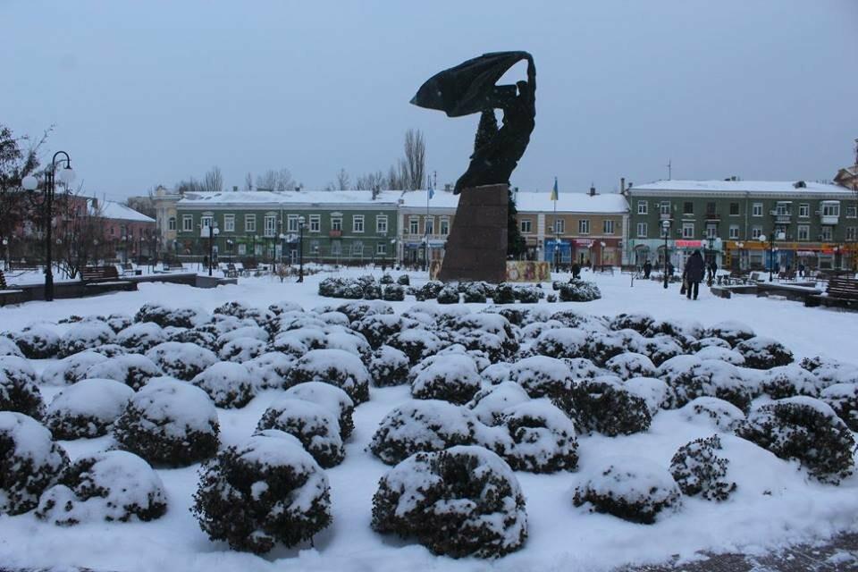 В Бердянск пришла настоящая зима (ФОТО), фото-18
