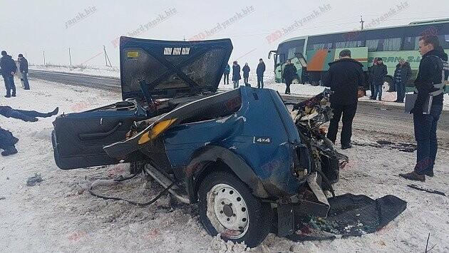 В Бердянском районе ДТП с жертвами и пострадавшими (ФОТО), фото-1
