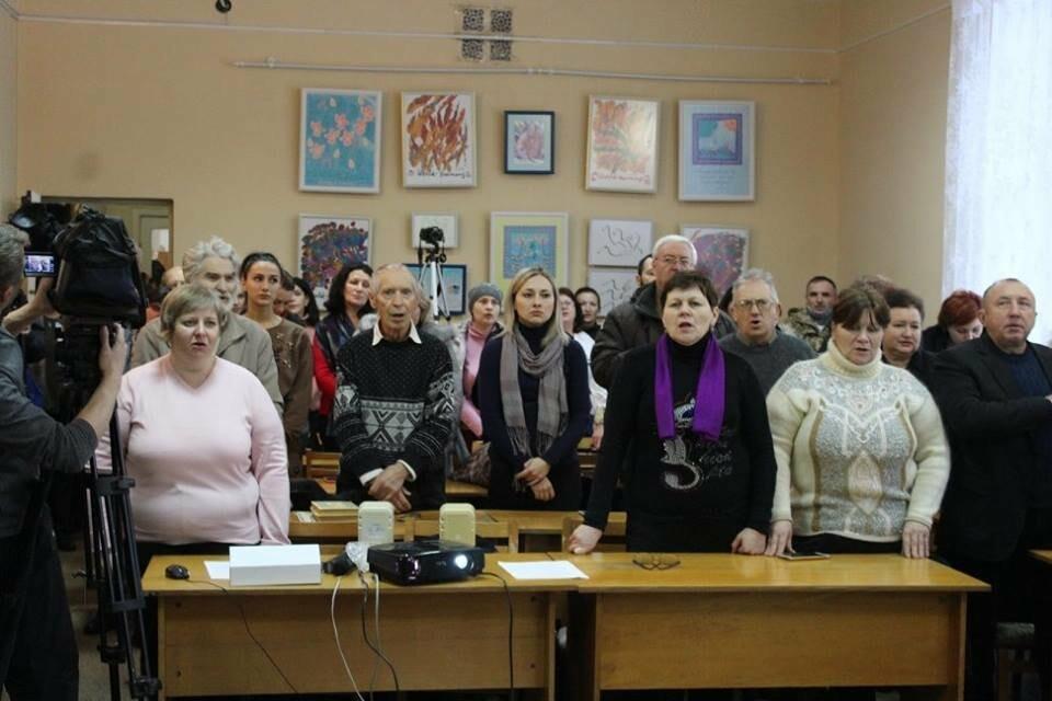 Общественность Бердянска отметила День Соборности Украины (ФОТО), фото-3