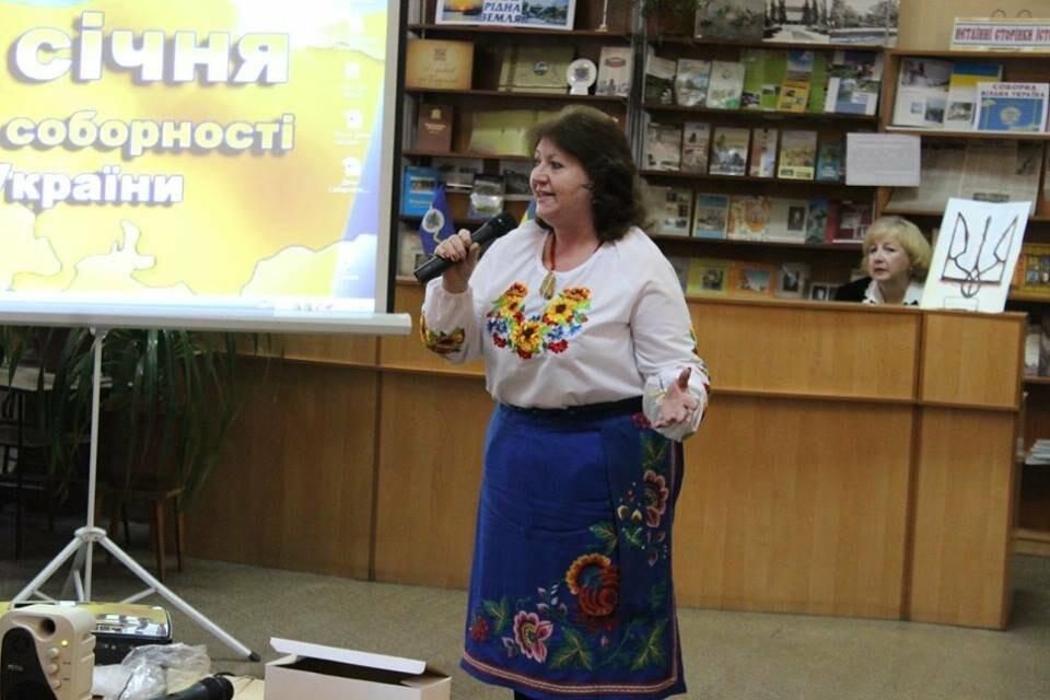 Общественность Бердянска отметила День Соборности Украины (ФОТО), фото-9