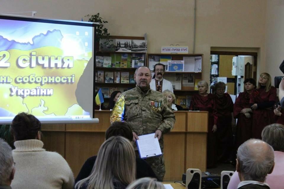 Общественность Бердянска отметила День Соборности Украины (ФОТО), фото-4