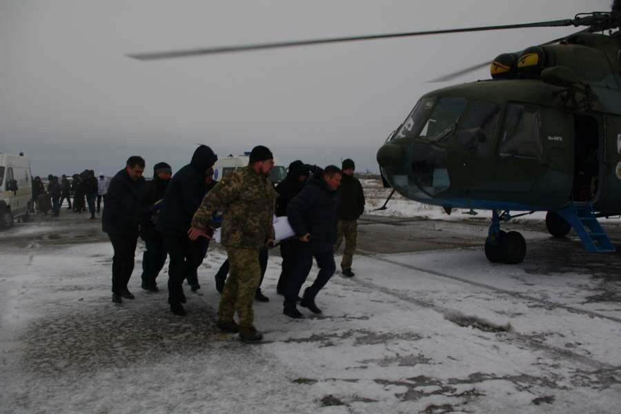Раненых при взрыве бердянских полицейских направили на лечение в Днепр, фото-1