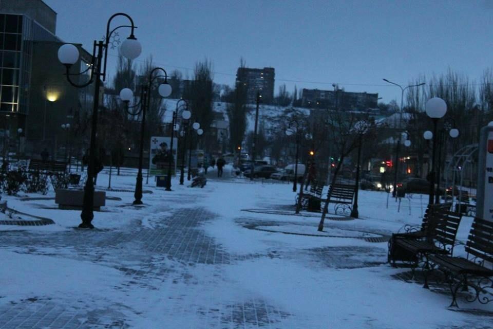 Заснеженный Бердянск (ФОТОРЕПОРТАЖ), фото-1