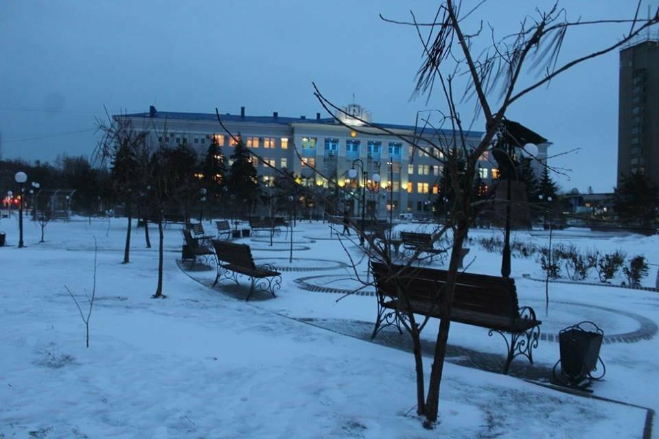 Заснеженный Бердянск (ФОТОРЕПОРТАЖ), фото-11