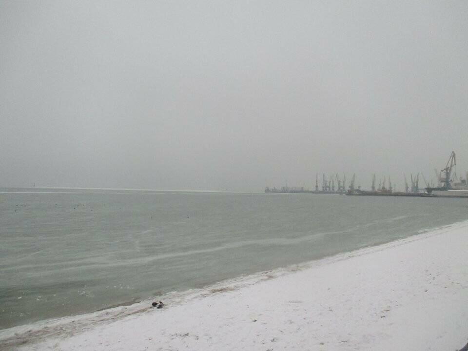 Азовское море погрузилось в зимний сон ( ФОТО), фото-5