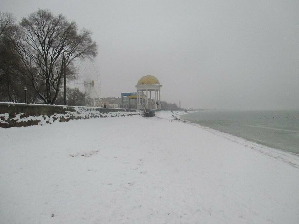 Азовское море погрузилось в зимний сон ( ФОТО), фото-4
