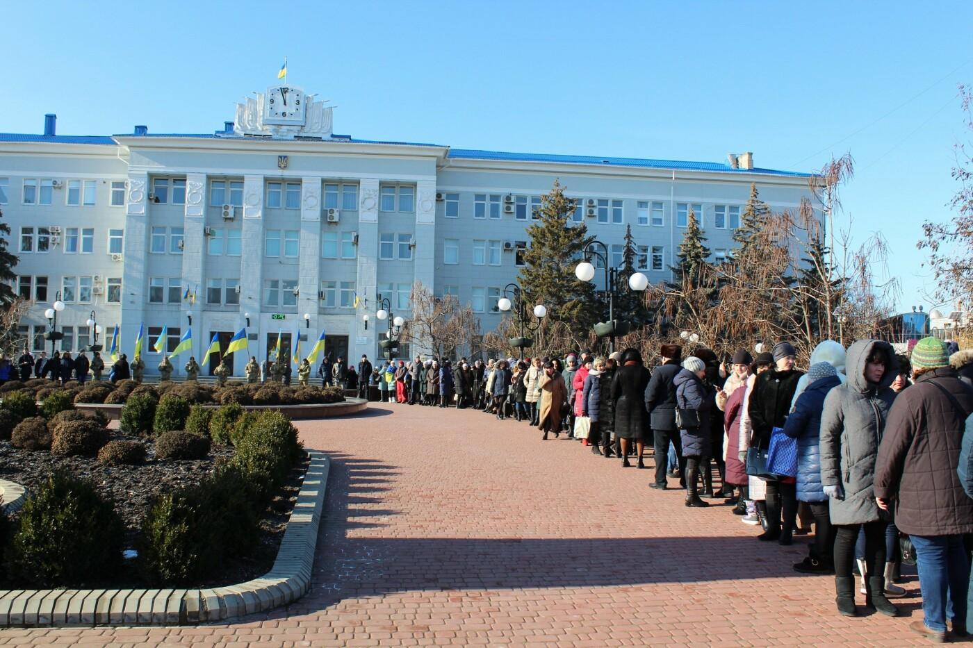 В Бердянске на площади Единства отметили 100-летие национального единства Украины (ФОТО), фото-5