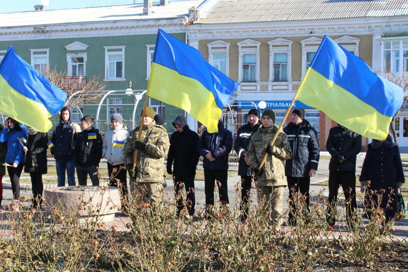В Бердянске на площади Единства отметили 100-летие национального единства Украины (ФОТО), фото-7