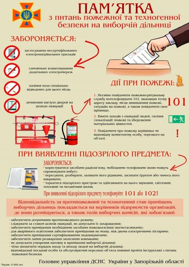 Спасатели Бердянска накануне выборов инструктируют  горожан  о поведении   в многолюдных местах, фото-4
