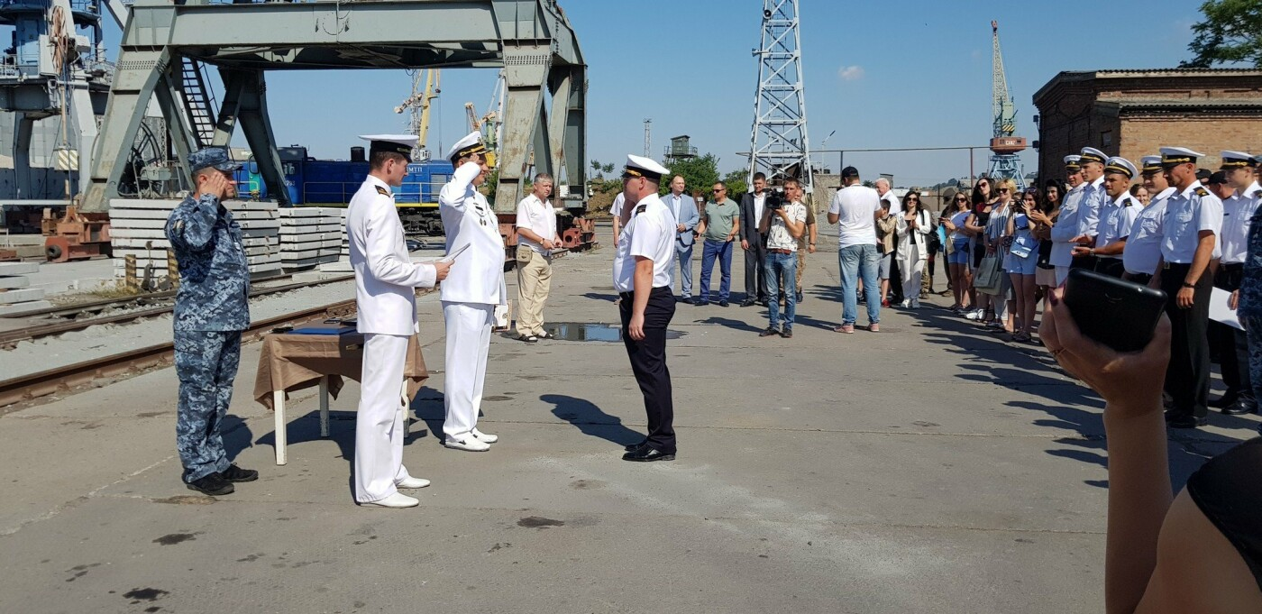 В Бердянске отметили День Военно-Морских Сил Украины (ФОТО), фото-1