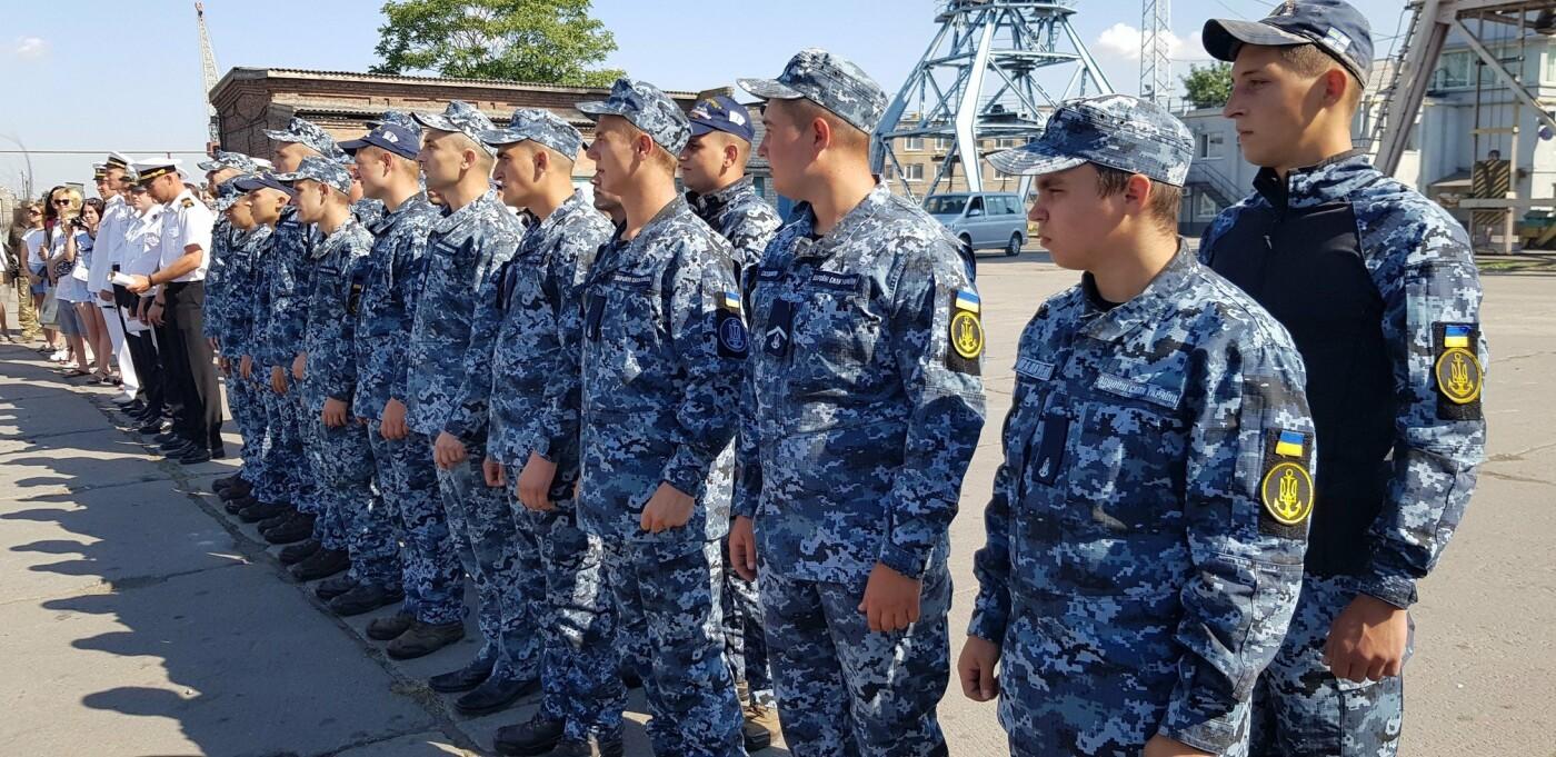 В Бердянске отметили День Военно-Морских Сил Украины (ФОТО), фото-2