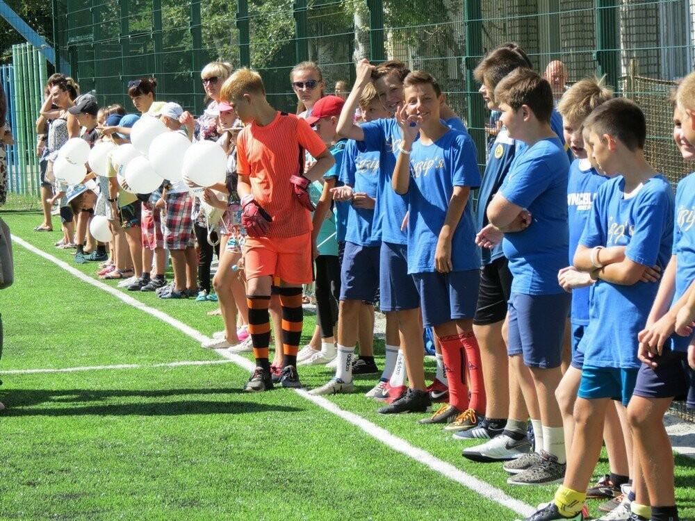 В Бердянске еще в двух школах появились новые мини-футбольные поля (ФОТО), фото-1