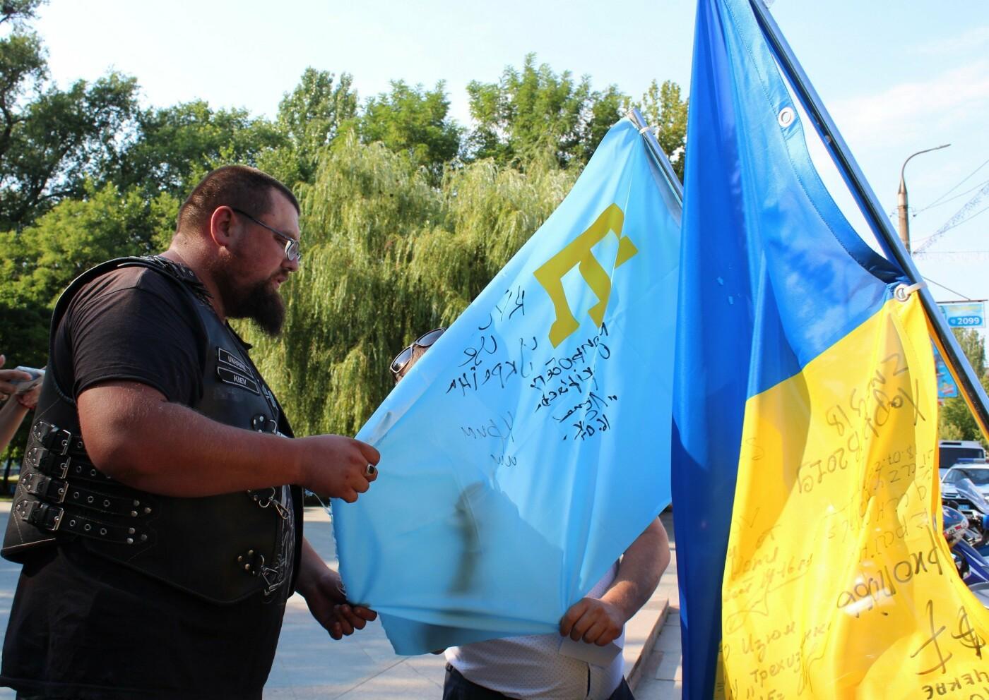 Бердянск принимал участников «Мотопробега Единство 2019» (ФОТО), фото-3