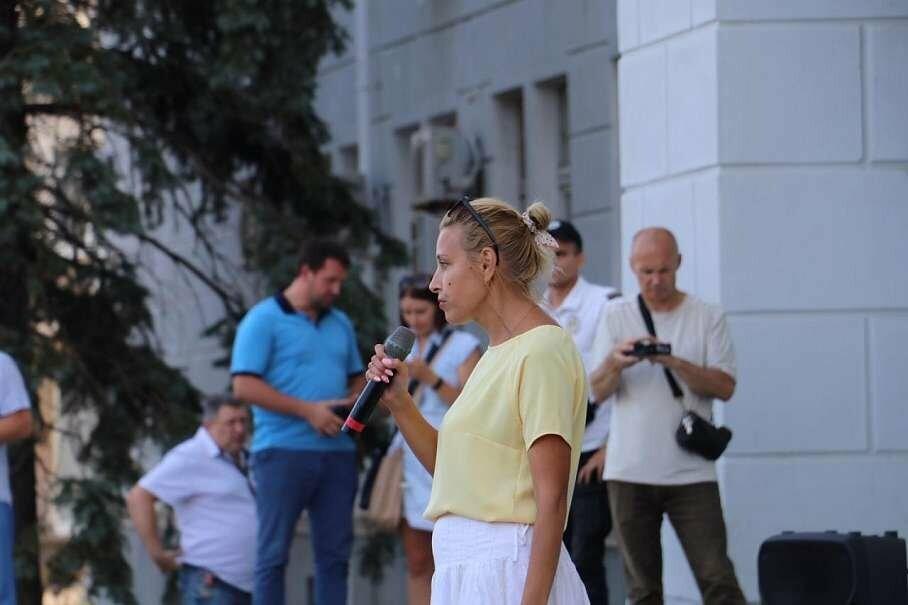 Не митинг, а хорошо спланированная акция в поддержку Александра Пономарева прошла под Бердянским горсоветом (ФОТО), фото-6