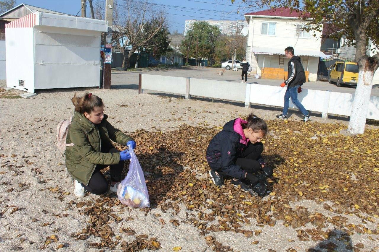 Бердянская молодёжь за чистые пляжи , фото-2