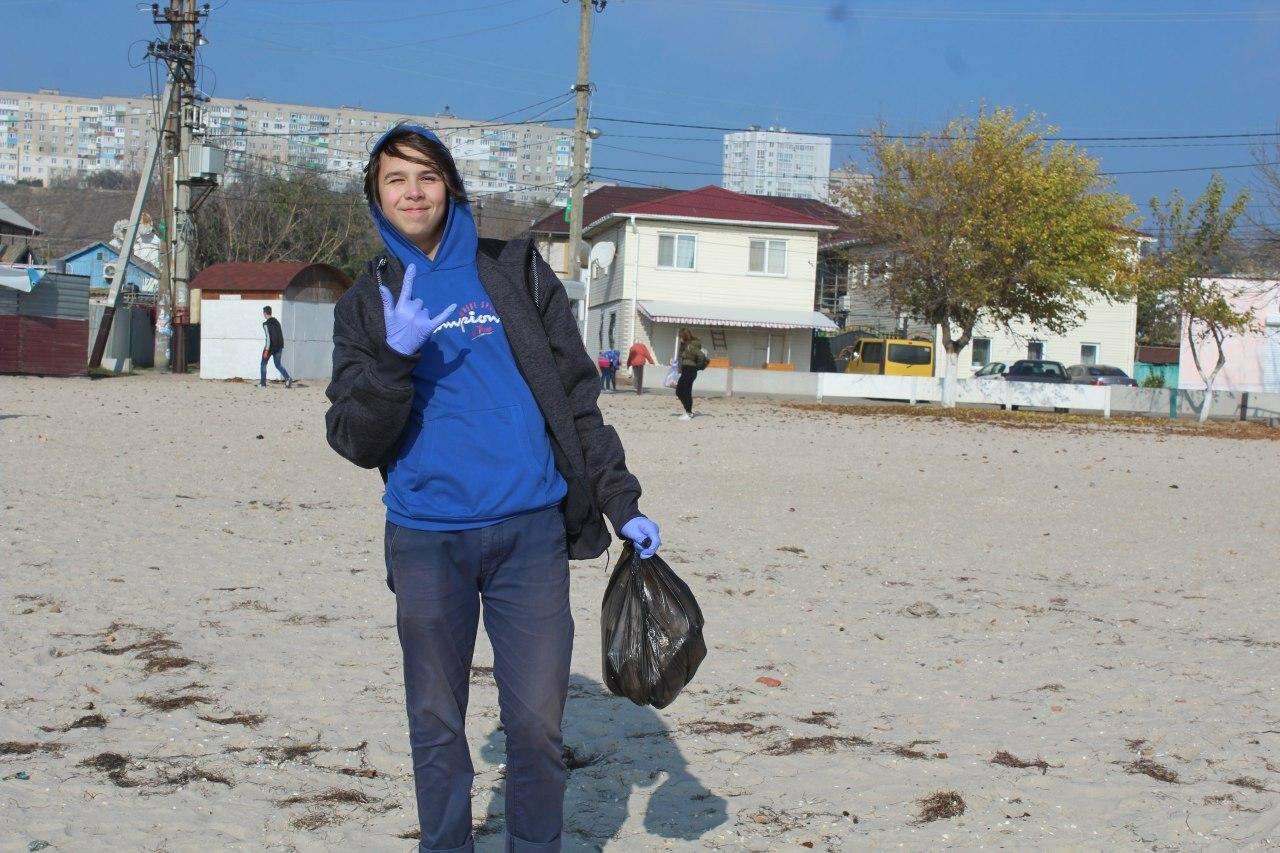 Бердянская молодёжь за чистые пляжи , фото-4