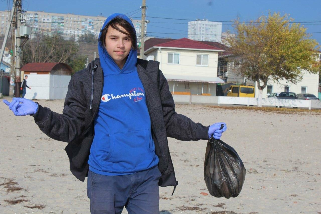 Бердянская молодёжь за чистые пляжи , фото-5