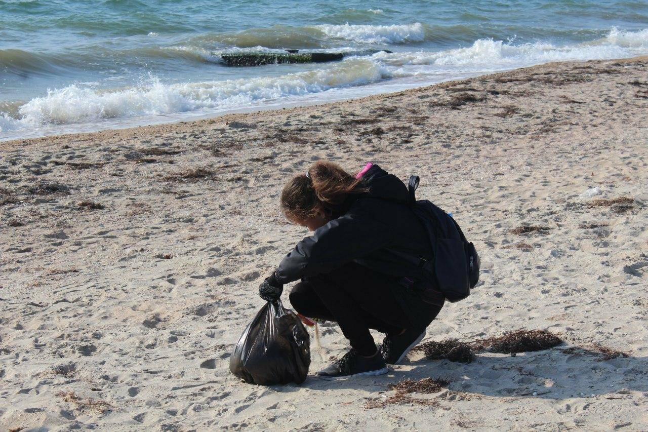 Бердянская молодёжь за чистые пляжи , фото-7