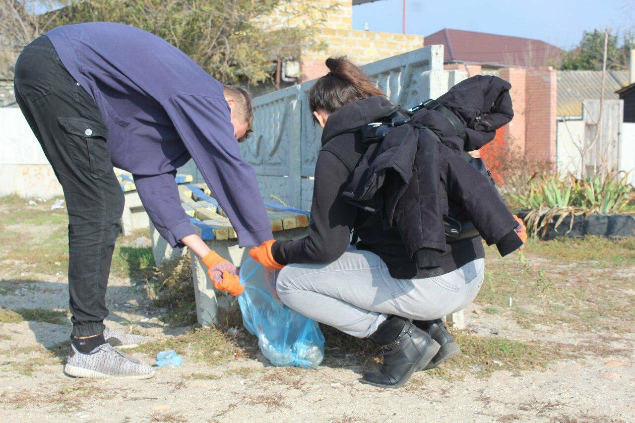 Бердянская молодёжь за чистые пляжи , фото-11